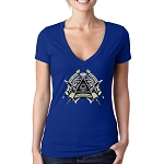 The Few The Proud The Honorable Masonic Women's V-Neck T-Shirt