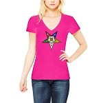 Order of the Eastern Star Masonic Women's V-Neck T-Shirt