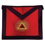 13th Degree Scottish Rite Masonic Apron - [Red]