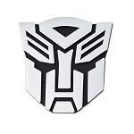 Transformer Autobot Chrome Finish Auto Emblem - 3