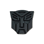 Transformer Autobot Black Finish Auto Emblem - 1
