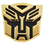 Transformer Autobot Gold Finish Auto Emblem - 3