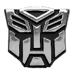 Transformer Autobot Auto Emblem - [Chrome][2 1/2'' Tall]