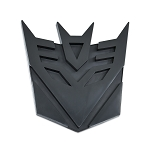 Transformer Decepticon Black Finish Auto Emblem - [5