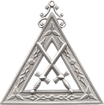 Sentinel Royal Arch Masonic Officer Jewel - [Gold] - RAC-10