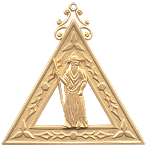 Principal Sojourner Royal Arch Masonic Officer Jewel - [Gold] - RAC-14