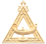 Archivist Royal Arch Masonic Officer Jewel - [Gold] - RAC-17