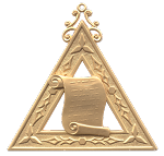 Lecturer Royal Arch Masonic Officer Jewel - [Gold] - RAC-18