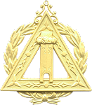 Grand Scribe Royal Arch Grand Chapter Masonic Officer Jewel - [Gold] - RAC-22