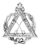 Grand Captain Royal Arch Grand Chapter Masonic Officer Jewel - [Gold] - RAC-23