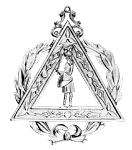 Grand Captain of the Host Royal Arch Grand Chapter Masonic Officer Jewel - [Gold] - RAC-28