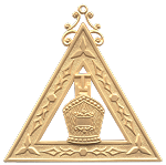 High Priest Royal Arch Masonic Officer Jewel - [Gold] - RAC-3