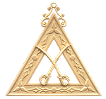 Captain Royal Arch Masonic Officer Jewel - [Gold] - RAC-8