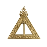Third Veil Royal Arch Masonic Officer Jewel - [Gold] - RAC-9