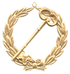 Grand Assistant Treasurer Grand Lodge Masonic Officer Jewel - [Gold] - RBL-122