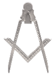 Bible Jewel Blue Lodge Masonic Working Tool - [Silver] - RBL-123