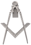 Bible Jewel Blue Lodge Masonic Working Tool - [Silver] - RBL-124
