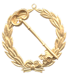 Grand Trustee Grand Lodge Masonic Officer Jewel - [Gold] - RBL-143