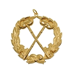 Grand Treasurer Grand Lodge Masonic Officer Jewel  - RBL-42