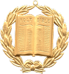 Grand Chaplain Grand Lodge Masonic Officer Jewel  - RBL-48