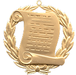 Grand Orator Grand Lodge Masonic Officer Jewel  - RBL-52