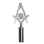 Senior Deacon Blue Lodge Masonic Rod Top - RBL-84