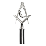 Junior Deacon Blue Lodge Masonic Rod Top - RBL-86