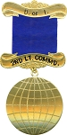 2nd Lt. Commandress Daughters of Isis Masonic Officer Jewel - [Gold] - RDI-3