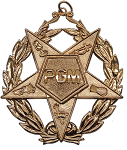 Past Grand Matron Order of the Eastern Star Masonic Officer Jewel - [Gold] - RES-110