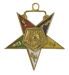 Associate Matron Order of the Eastern Star Masonic Officer Jewel - [Gold][1 1/2''] - RES-33