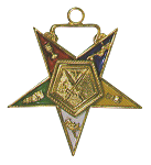 Sentinel Order of the Eastern Star Masonic Officer Jewel - [Gold][1 1/2''] - RES-35