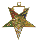 Conductress Order of the Eastern Star Masonic Officer Jewel - [Gold][1 1/2''] - RES-38