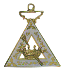 Esther Order of the Eastern Star Masonic Officer Jewel - [Gold][1 1/2''] - RES-44
