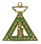 Martha Order of the Eastern Star Masonic Officer Jewel - [Gold][1 1/2''] - RES-46