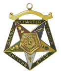 Grand Associate Matron Order of the Eastern Star Grand Chapter Masonic Officer Jewel  - RES-57