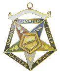 Grand Associate Conductress Order of the Eastern Star Grand Chapter Masonic Officer Jewel  - RES-62