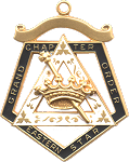 Grand Esther Order of the Eastern Star Grand Chapter Masonic Officer Jewel  - RES-68
