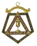 Grand Electa Order of the Eastern Star Grand Chapter Masonic Officer Jewel  - RES-69