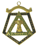 Grand Ruth Order of the Eastern Star Grand Chapter Masonic Officer Jewel  - RES-70
