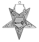 Matron Order of the Eastern Star Masonic Officer Jewel - [Gold][2''] - RES-78