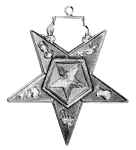 Associate Patron Order of the Eastern Star Masonic Officer Jewel - [Gold][2''] - RES-80