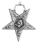 Associate Matron Order of the Eastern Star Masonic Officer Jewel - [Gold][2''] - RES-82