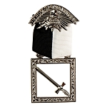 Sentinel Knights Templar Masonic Officer Breast Jewel - RKT-13