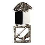 Senior Warden Knights Templar Masonic Officer Breast Jewel - RKT-15