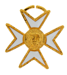 Malta Knights Templar Masonic Officer Jewel - [Gold] - RKT-20