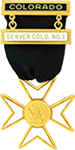 Malta Knights Templar Masonic Officer Breast Jewel - [Gold] - RKT-22