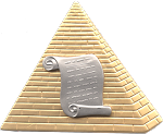 Orator Shriner Masonic Officer Jewel - [Two Tone] - RSG-10