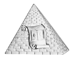 High Priest and Prophet Shriner Masonic Officer Jewel - [Two Tone] - RSG-11