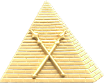 First Ceremonial Master Shriner Masonic Officer Jewel - [Two Tone] - RSG-12