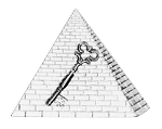 Assistant Recorder Shriner Masonic Officer Jewel - [Two Tone] - RSG-17